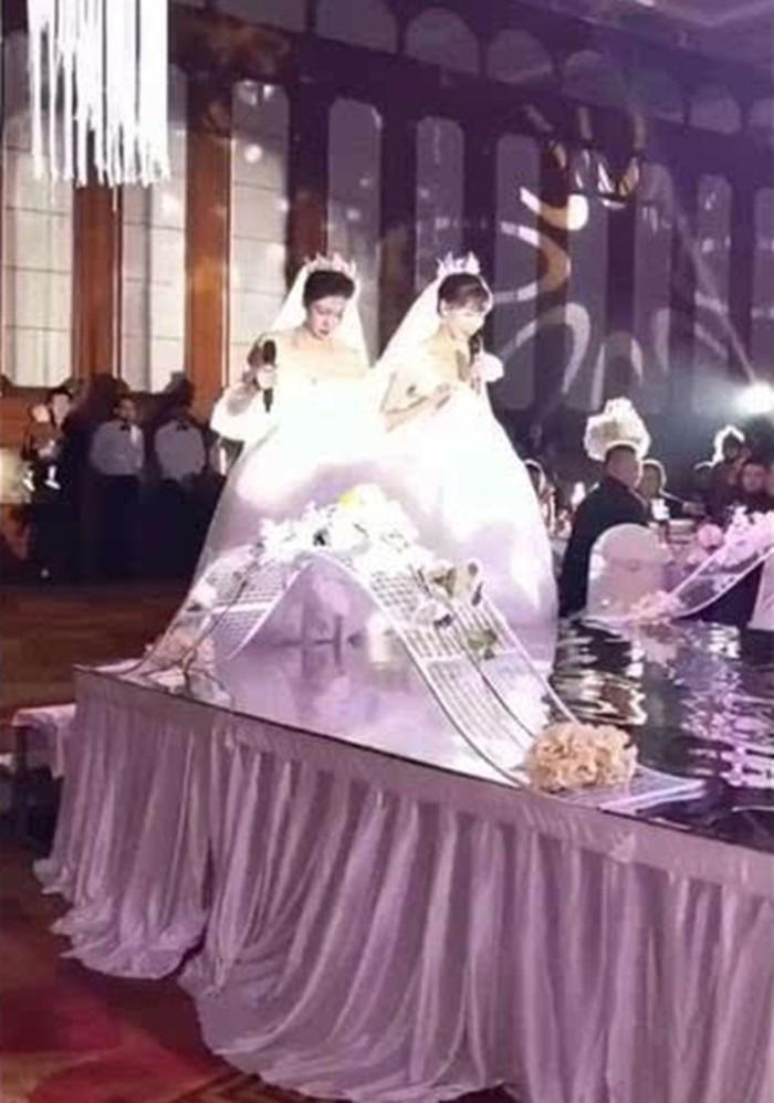 Sự thật về đám cưới 1 chú rể, 2 cô dâu gây xôn xao-2