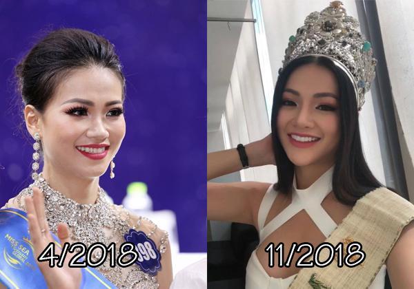 Giật mình trước nhan sắc thay đổi chóng mặt của Tân Hoa hậu Trái Đất chỉ sau nửa năm!-2