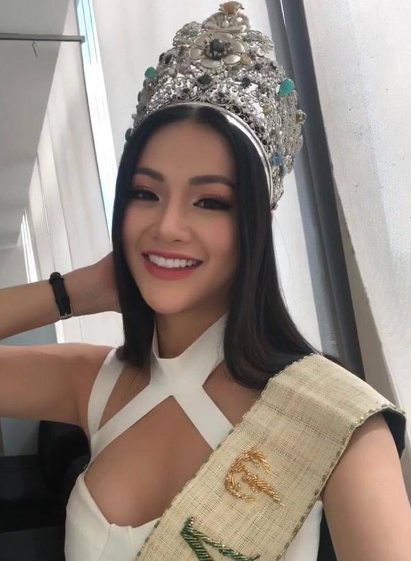 Giật mình trước nhan sắc thay đổi chóng mặt của Tân Hoa hậu Trái Đất chỉ sau nửa năm!-9