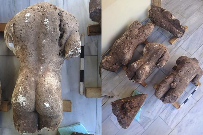 Phát hiện tượng cổ khỏa thân chôn vùi ở cánh đồng Hy Lạp-2
