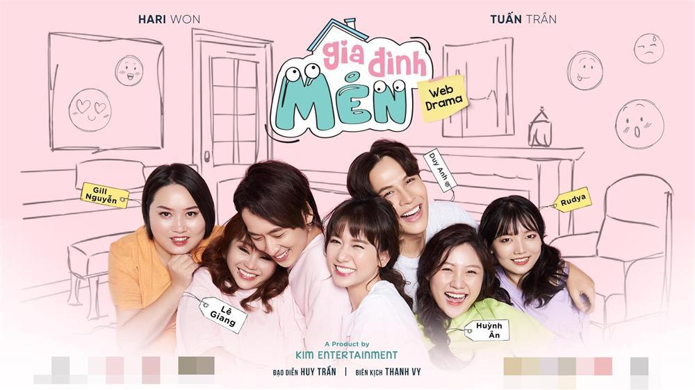 Hari Won cùng 2 cô em gái ruột của mình và Trấn Thành tạo thành Gia đình Mén-1
