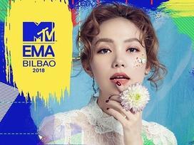Sau nhiều ngày bình chọn, Minh Hằng trắng tay tại đề cử Nghệ sĩ Đông Nam Á xuất sắc MTV EMA 2018