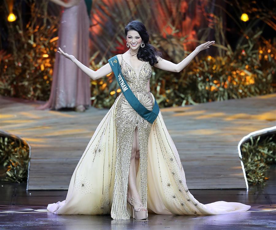 TIN ĐƯỢC KHÔNG: Gương mặt Tân Hoa hậu Trái Đất 2018 Phương Khánh lúc đăng quang khác hẳn với chính cô ấy chỉ cách đây vài tháng-1