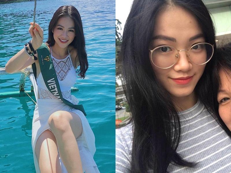 TIN ĐƯỢC KHÔNG: Gương mặt Tân Hoa hậu Trái Đất 2018 Phương Khánh lúc đăng quang khác hẳn với chính cô ấy chỉ cách đây vài tháng-11