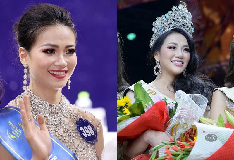 TIN ĐƯỢC KHÔNG: Gương mặt Tân Hoa hậu Trái Đất 2018 Phương Khánh lúc đăng quang khác hẳn với chính cô ấy chỉ cách đây vài tháng-2