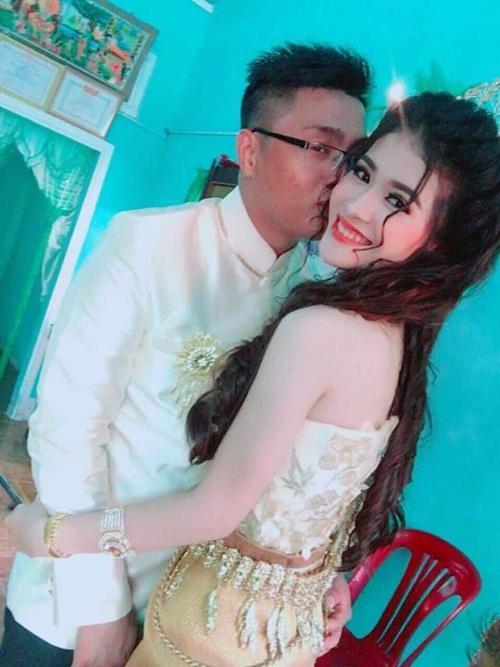 Ngoại hình quá chênh lệch, đám cưới của cô dâu xinh đẹp người Khmer và chồng đại gia gây xôn xao mạng xã hội Trung Quốc-2