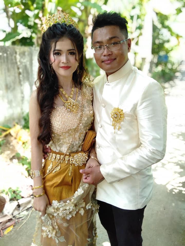 Ngoại hình quá chênh lệch, đám cưới của cô dâu xinh đẹp người Khmer và chồng đại gia gây xôn xao mạng xã hội Trung Quốc-3