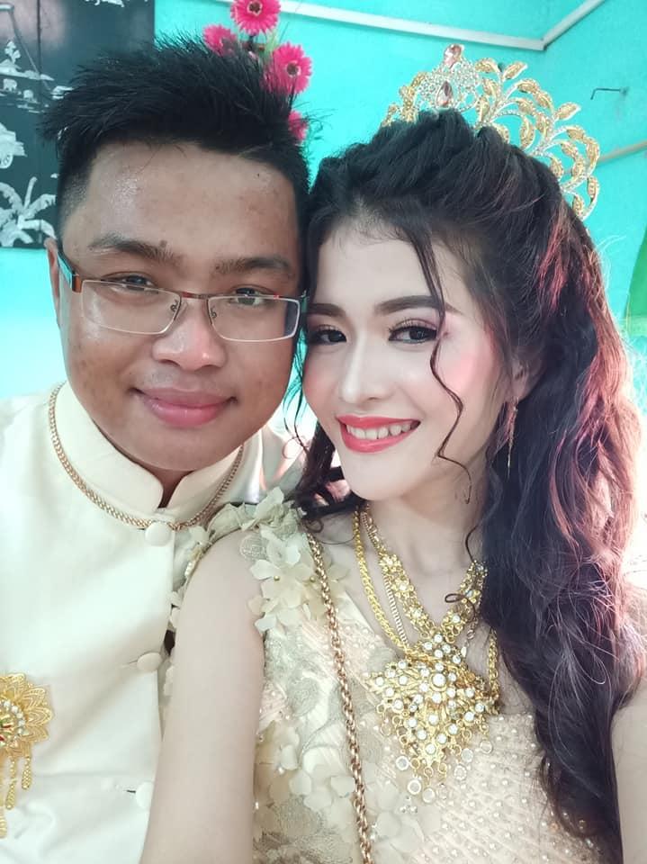 Ngoại hình quá chênh lệch, đám cưới của cô dâu xinh đẹp người Khmer và chồng đại gia gây xôn xao mạng xã hội Trung Quốc-4