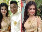 Ngoại hình quá chênh lệch, đám cưới của cô dâu xinh đẹp người Khmer và chồng đại gia gây xôn xao mạng xã hội Trung Quốc