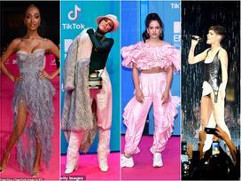 Những bộ trang phục thừa lồng lộn nhưng thảm họa nhất tại lễ trao giải MTV EMA 2018