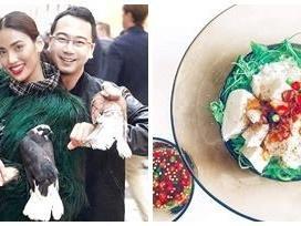 Lan Khuê lại tiếp tục trổ tài nấu ăn cho ông xã, khiến đồng nghiệp và fans hết lời khen ngợi