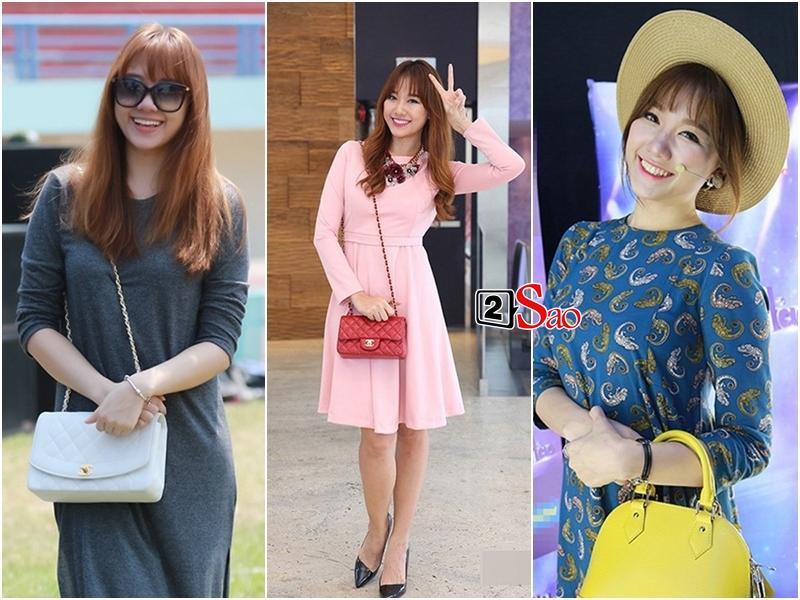 Loạt yêu nữ showbiz Việt không tiếc tiền shopping nhưng lại luôn biến hàng hiệu thành hàng chợ kém sang-1