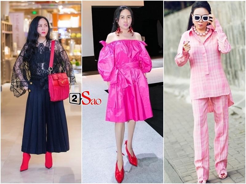 Loạt yêu nữ showbiz Việt không tiếc tiền shopping nhưng lại luôn biến hàng hiệu thành hàng chợ kém sang-7