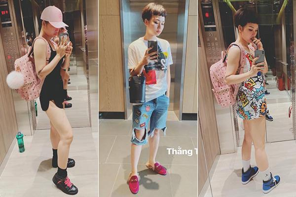 Loạt yêu nữ showbiz Việt không tiếc tiền shopping nhưng lại luôn biến hàng hiệu thành hàng chợ kém sang-4