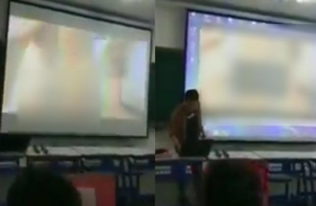 Thầy giáo trẻ gây shock khi chiếu nhầm phim người lớn trên giảng đường đại học-1