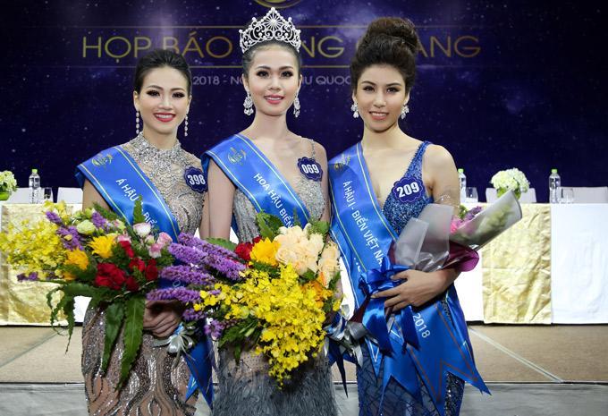 Top 3 Hoa hậu Biển Việt Nam Toàn cầu 2018: Người huy hoàng đăng quang quốc tế, kẻ mất dạng không còn tiếng tăm-1