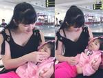 Hình ảnh mới nhất về mẹ nuôi bé gái suy dinh dưỡng ở Lào Cai: Bầu 7 tháng nhưng được khen đẹp như thiên thần-12