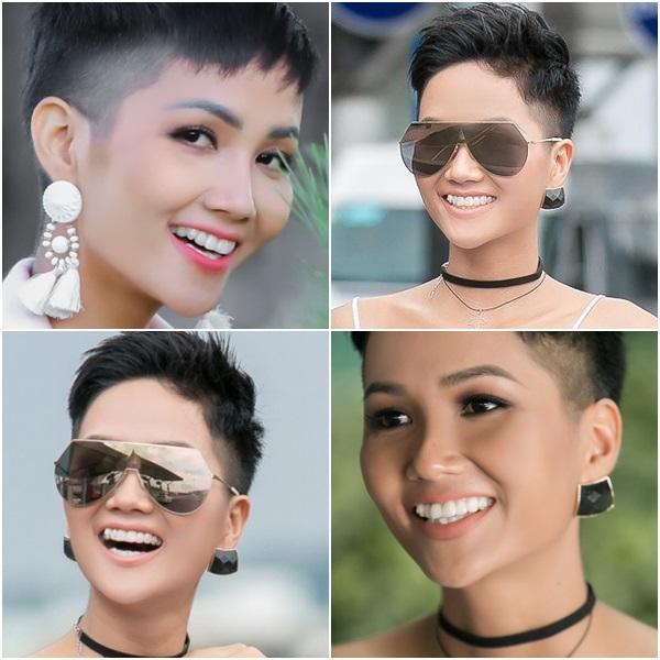 Trước ngày chinh chiến Miss Universe 2018, HHen Niê sung sướng khoe hàm răng khểnh nay đã đều tăm tắp-3