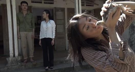 Tát em gái Lan Cave tới tấp, My Sói bị người tình đánh cho no đòn-5