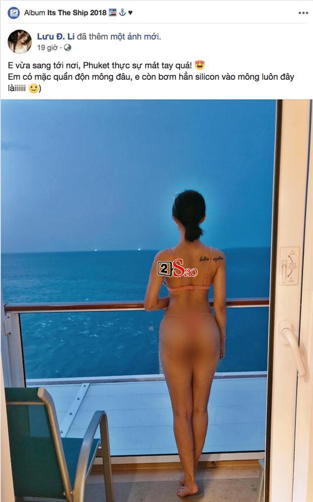 Khoe vòng 3 dập tin đồn độn mông, ai ngờ hot girl Lee Balan bị bóc mẽ photoshop ảnh cong cả lan can-2