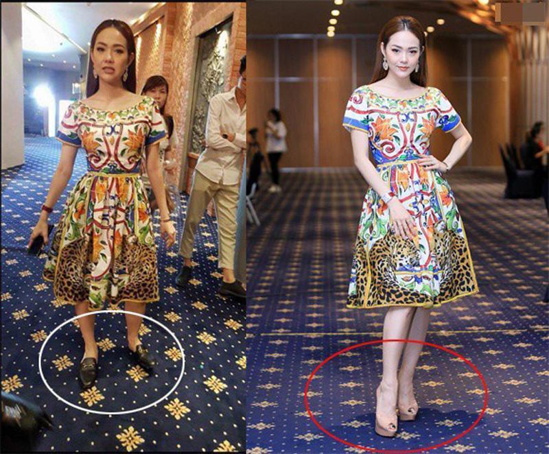 Loạt ảnh hậu trường nói không với giầy cao gót, mỹ nhân Việt bỗng chốc trở thành trò cười cho thiên hạ-3