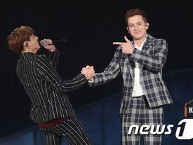 BTS 'vơ vét' giải thưởng, bị phô giọng khi kết hợp Charlie Puth