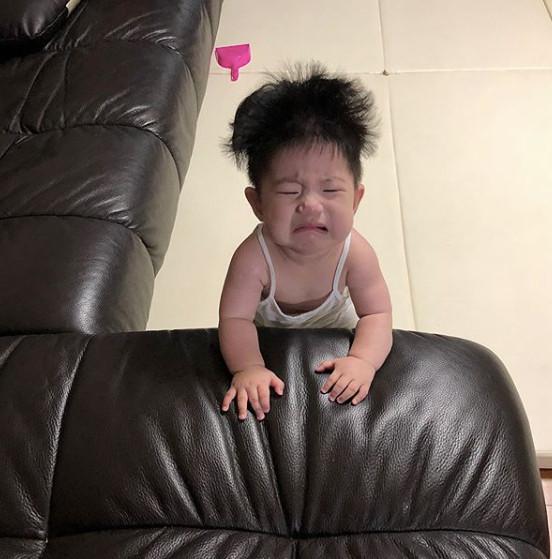 Cậu bé mặt trời Hàn Quốc mới một tuổi đã thành hiện tượng mạng-9