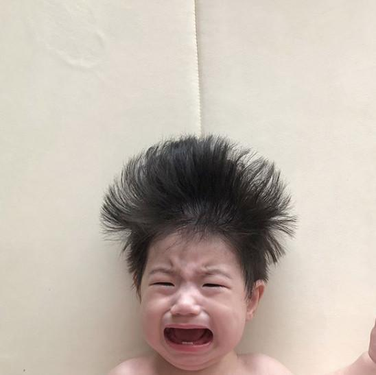 Cậu bé mặt trời Hàn Quốc mới một tuổi đã thành hiện tượng mạng-11