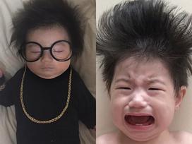 'Cậu bé mặt trời' Hàn Quốc mới một tuổi đã thành hiện tượng mạng