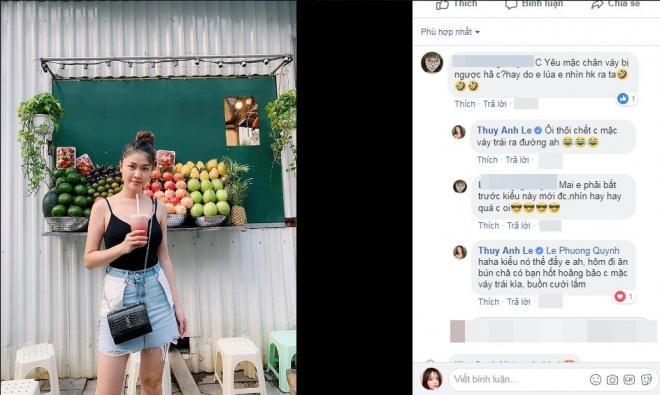 Mặc váy trái mà hồn nhiên tung tăng ra phố, bà xã Đăng Khôi khiến dân mạng sửng sốt với style ngược đời-7