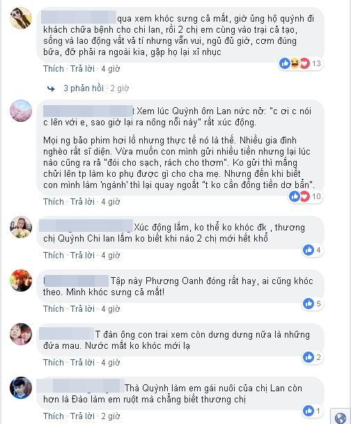Quá ấn tượng với diễn xuất của Thanh Hương, khán giả đòi đổi tên phim Quỳnh Búp Bê thành Lan Cave-5