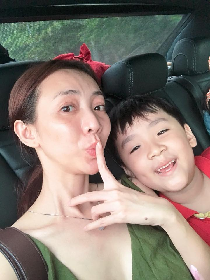 Thu Trang công khai dằn mặt Tiến Luật trên mạng xã hội vì ông xã ham vui bỏ bê vợ con-2