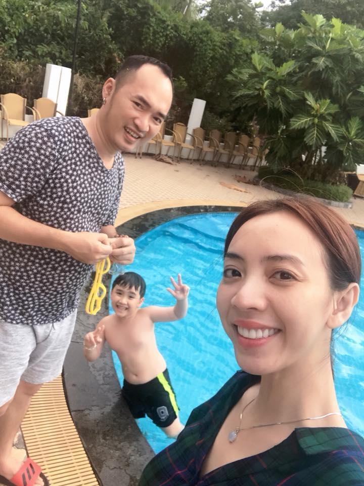 Thu Trang công khai dằn mặt Tiến Luật trên mạng xã hội vì ông xã ham vui bỏ bê vợ con-4