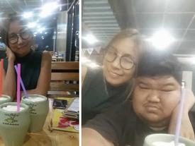 Nàng 44kg hạnh phúc bên chàng 120kg: Tôi yêu anh vì sự tử tế