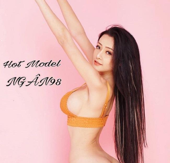 Sau khi ăn kiêng để eo bé 54cm, Ngân 98 được báo Trung gọi là nữ thần-4