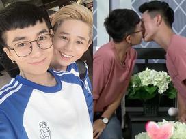 Ngoại hình chuẩn soái ca của cặp đam mỹ bất ngờ hôn nhau trên truyền hình khiến phái kẹp nơ 'tiếc đứt ruột'