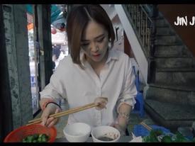 Phản ứng của cô gái Nhật Bản trong lần đầu ăn bún đậu mắm tôm