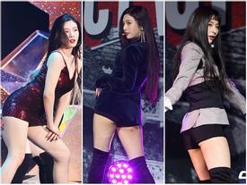 Red Velvet liên tục gây tranh cãi vì hớ hênh trên sân khấu