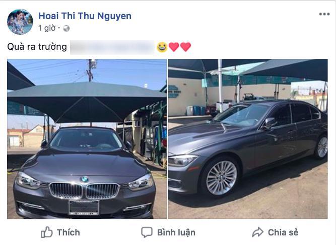 Ngoài được mẹ tặng xe tiền tỉ, con gái sinh năm 2000 của Hoa hậu Thu Hoài có cuộc sống thế nào trên đất Mỹ?-3