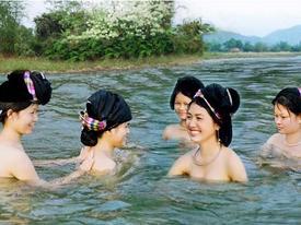 Bí ẩn dòng suối khiến con gái Thanh Hóa xuống 'tắm tiên' là có làn da trắng nõn