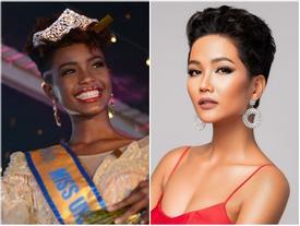 Đại diện Kenya xuất hiện khiến H'Hen Niê không còn là thí sinh tóc tém duy nhất tại Miss Universe 2018