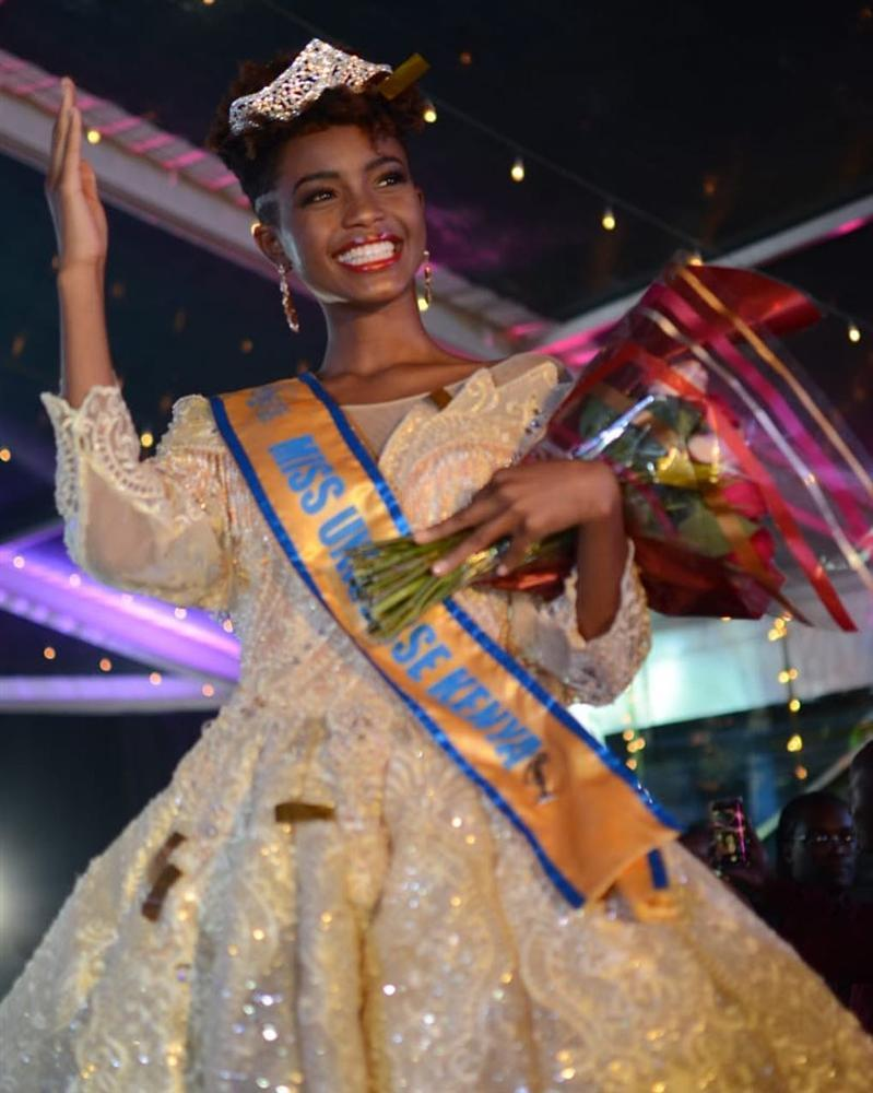Đại diện Kenya xuất hiện khiến HHen Niê không còn là thí sinh tóc tém duy nhất tại Miss Universe 2018-3