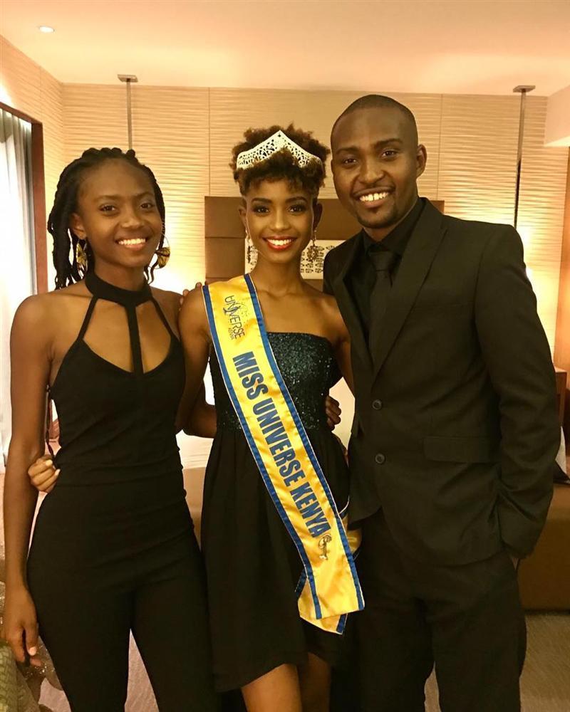 Đại diện Kenya xuất hiện khiến HHen Niê không còn là thí sinh tóc tém duy nhất tại Miss Universe 2018-4