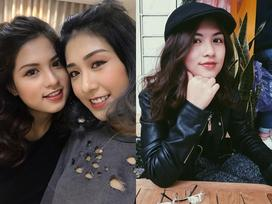 Trang Lou bị lép vế khi khoe ảnh em gái họ cùng chung chăn gối cả thời tuổi thơ