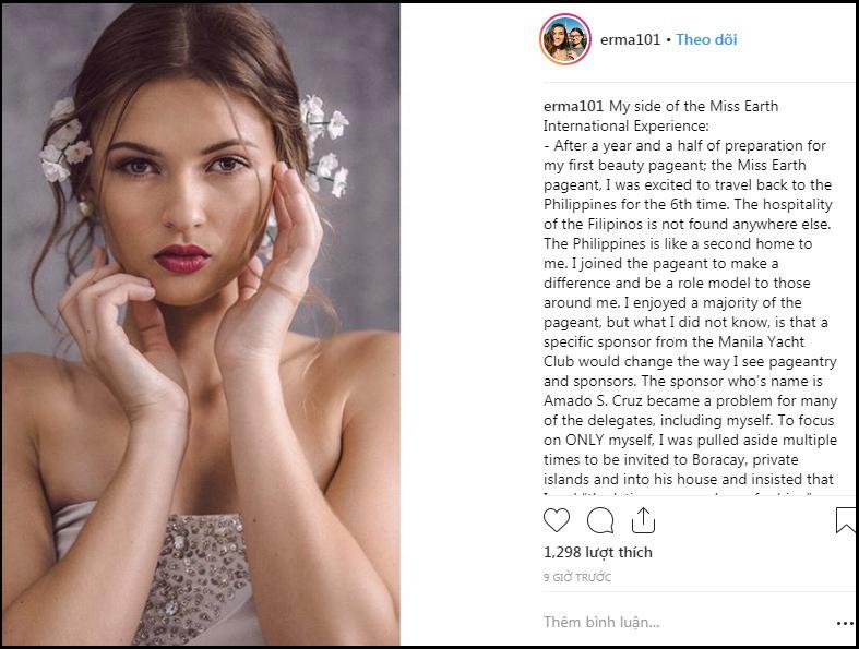 3 thí sinh đồng loạt tố cáo nhà tài trợ Hoa hậu Trái Đất 2018 gạ gẫm tình dục đổi giải thưởng-3