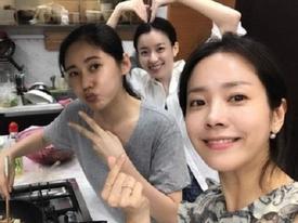 Mỹ nhân 'Hoàng tử gác mái' tổ chức sinh nhật giản dị cùng hội chị em showbiz