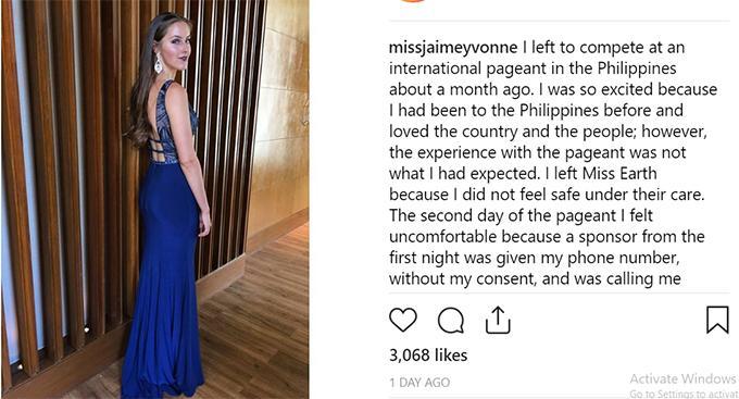 Lùm xùm bê bối gạ tình tại Miss Earth 2018, Hoa hậu Phương Khánh lên tiếng: Tôi chưa từng nghe nói việc này và…-4