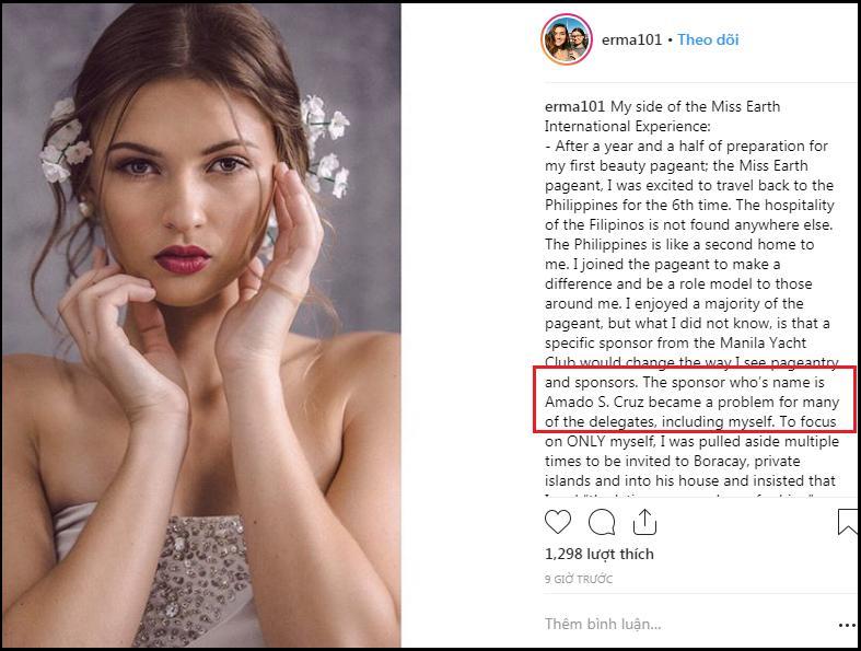 Lộ chân dung nhà tài trợ Hoa hậu Trái Đất 2018 gạ gẫm thí sinh quan hệ tình dục đổi lấy vương miện?-2
