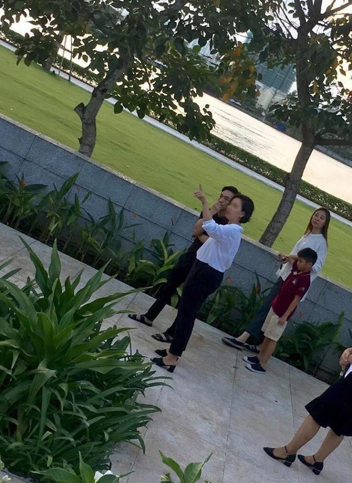 Cường Đô La cùng con trai và Đàm Thu Trang đi xem nhà, chuẩn bị cho đám cưới vào năm sau?-2