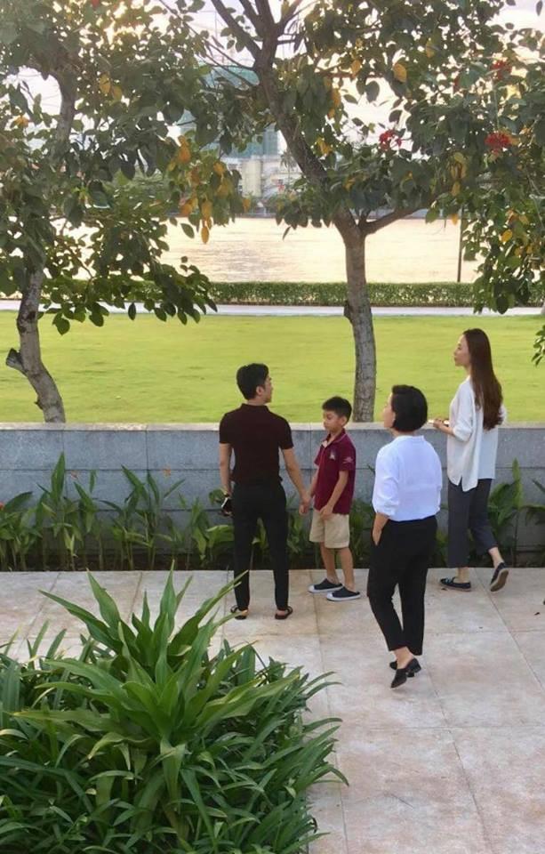 Cường Đô La cùng con trai và Đàm Thu Trang đi xem nhà, chuẩn bị cho đám cưới vào năm sau?-3
